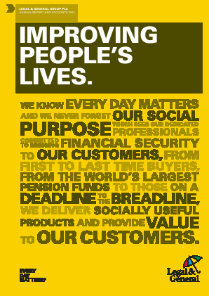 Legal & General Group annual report 2013