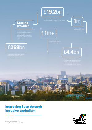 Legal & General Group annual report 2018