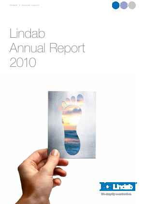Lindab International annual report 2010