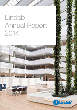 Lindab International annual report 2014