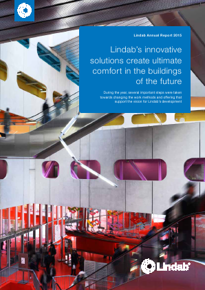Lindab International annual report 2015
