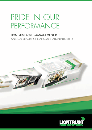 Liontrust Asset Management annual report 2015