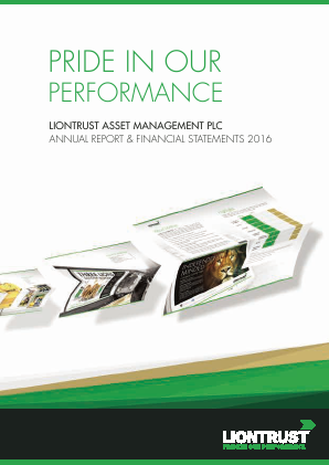 Liontrust Asset Management annual report 2016