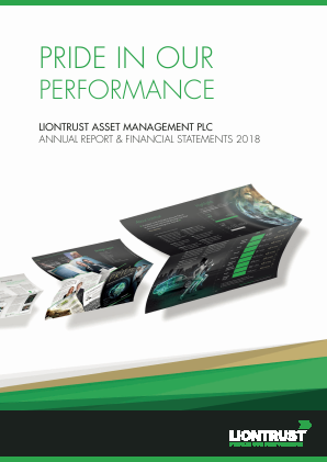Liontrust Asset Management annual report 2018