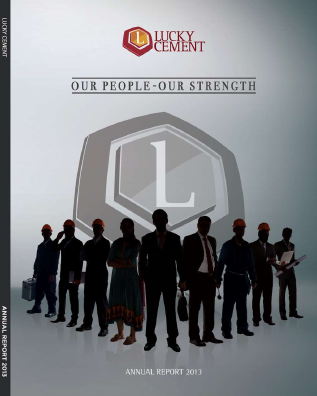 Lucky Cement annual report 2013