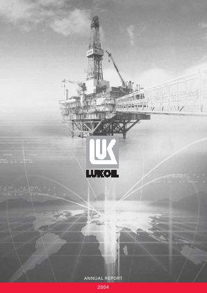 Lukoil annual report 2004