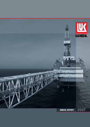 Lukoil PJSC annual report 2007