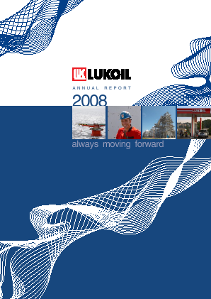 Lukoil PJSC annual report 2008