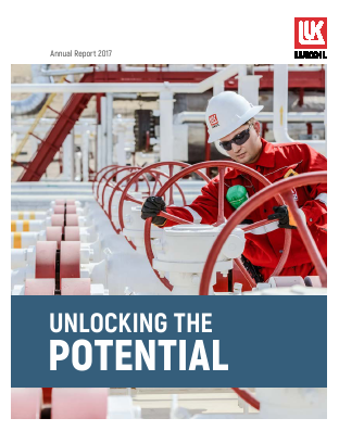 Lukoil PJSC annual report 2017