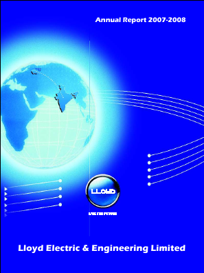 Lloyd Electric & Engineering annual report 2008