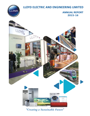 Lloyd Electric & Engineering annual report 2016