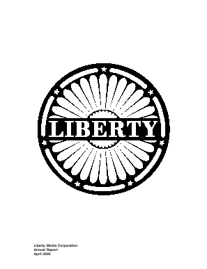 Liberty Media Corporation annual report 2005