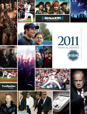 Liberty Media Corporation annual report 2011