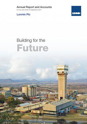 Lonmin annual report 2011