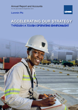 Lonmin annual report 2015