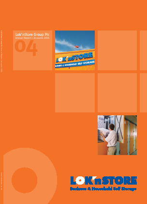 Lok'n Store Group annual report 2004