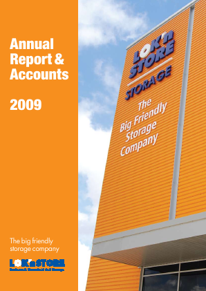 Lok'n Store Group annual report 2009