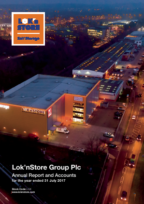 Lok'n Store Group annual report 2017