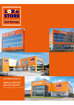 Lok'n Store Group annual report 2018
