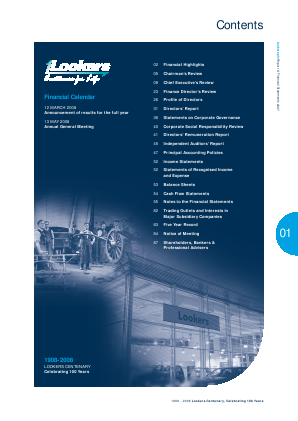 Lookers annual report 2007