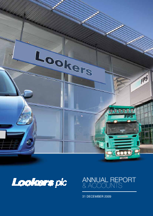 Lookers annual report 2009