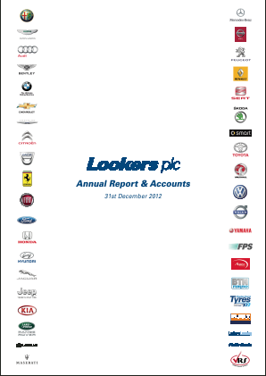 Lookers annual report 2012