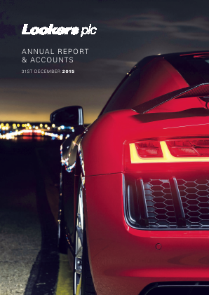 Lookers annual report 2015