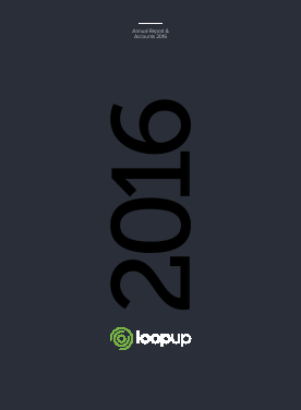 Loopup Group annual report 2016