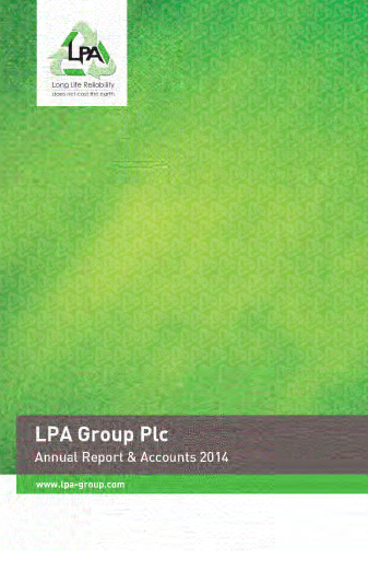 Lpa Group annual report 2014