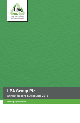 Lpa Group annual report 2016