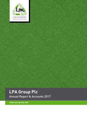 Lpa Group annual report 2017