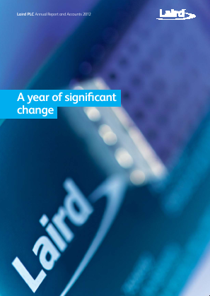 Laird Plc annual report 2012