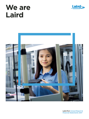 Laird Plc annual report 2017