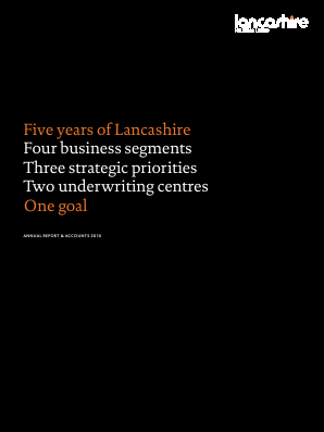 Lancashire Holdings annual report 2010