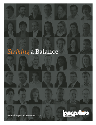 Lancashire Holdings annual report 2011