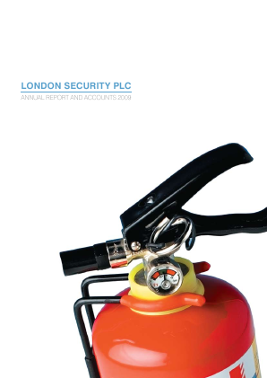 London Security Plc annual report 2009