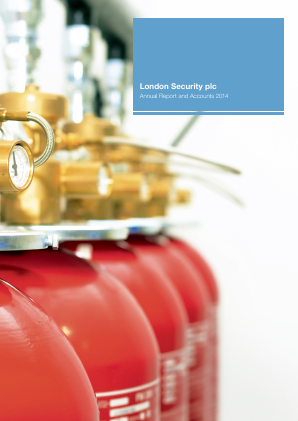London Security Plc annual report 2014