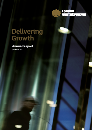 London Stock Exchange Group annual report 2014
