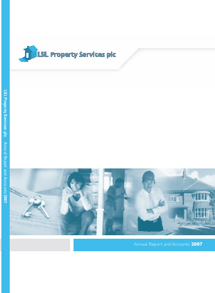 LSL Property Services Plc annual report 2007