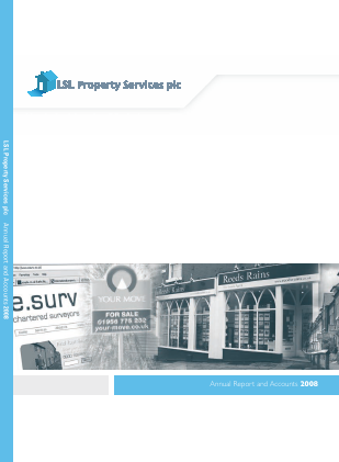 LSL Property Services Plc annual report 2008