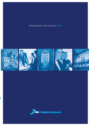 LSL Property Services Plc annual report 2009