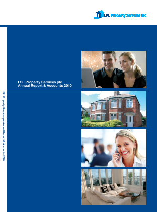 LSL Property Services Plc annual report 2010