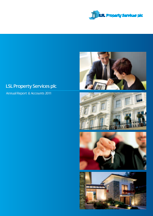 LSL Property Services Plc annual report 2011