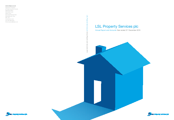 LSL Property Services Plc annual report 2015