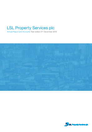 LSL Property Services Plc annual report 2016