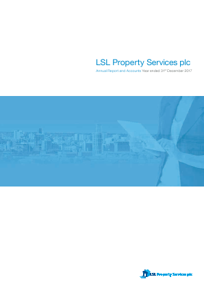 LSL Property Services Plc annual report 2017