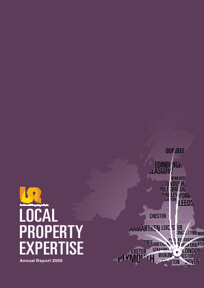 Local Shopping Reit Plc(The) annual report 2009