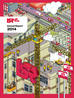 LSR Group PJSC annual report 2014