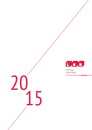LSR Group PJSC annual report 2015
