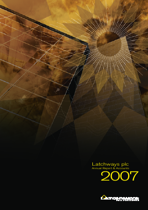 Latchways annual report 2007